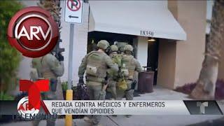 Médicos y enfermeros en California vendían opioides | Al Rojo Vivo | Telemundo
