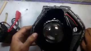 Ganti Lampu HID Proji dengan Lampu Bohlam H1 100W