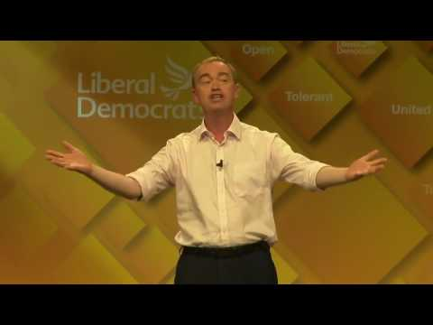 Tim Farron's Rally Speech: 2016 Lib Dem Autumn Conference