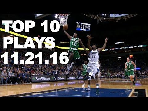 Veja o video – Top 10 NBA Plays: 11.21.16