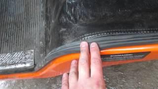кабина самосвала Камаз 65115, оранжевый