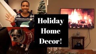 Christmas House Tour: Living Room Decor! | VLOGMAS DAY 13