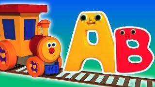 Ben Train alfabeto Aventura   Desenhos animados para crianças   vídeo educativo   Compilação