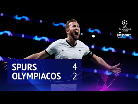 Tottenham Hotspur vs Olympiacos (4-2) | UEFA Champions League Highlights