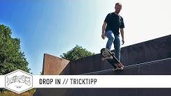 How to Drop In (Transition) - einfach und schnell Skateboard Tricks lernen (deutsch/german)