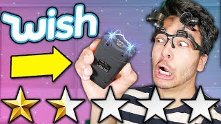 I BOUGHT THE LOWEST RATED ITEMS ON WISH! Worst Wish.com Items Unboxing and REVIEW!