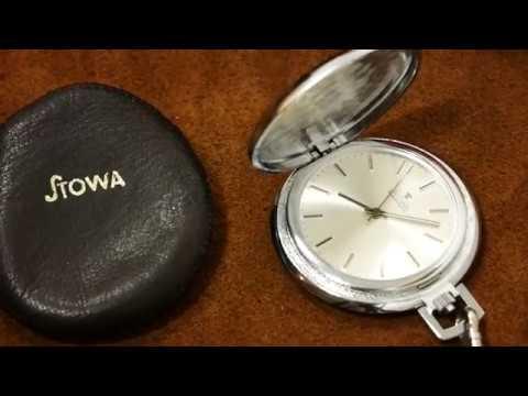 Alte Stowa Frackuhr (kleine Taschenuhr) Mit PUW 560 Uhrwerk | Uhr Clock Watch