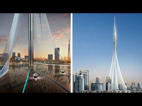 Dubai Builds World's Tallest Tower: 1300m+ Dubai Creek Tower | 2019 Update