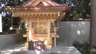 京都東山山嶺に新熊野神社が鎮座されています永歴元年(1160)後白...