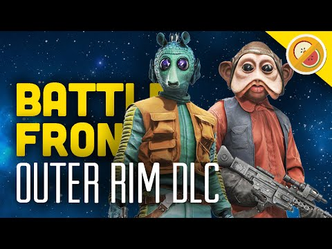 OUTER RIM DLC! : Star Wars Battlefront Gameplay Funny Moments