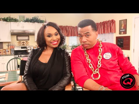 Angell Conwell and Omar Gooding Talk Family Time on Studio QTV
