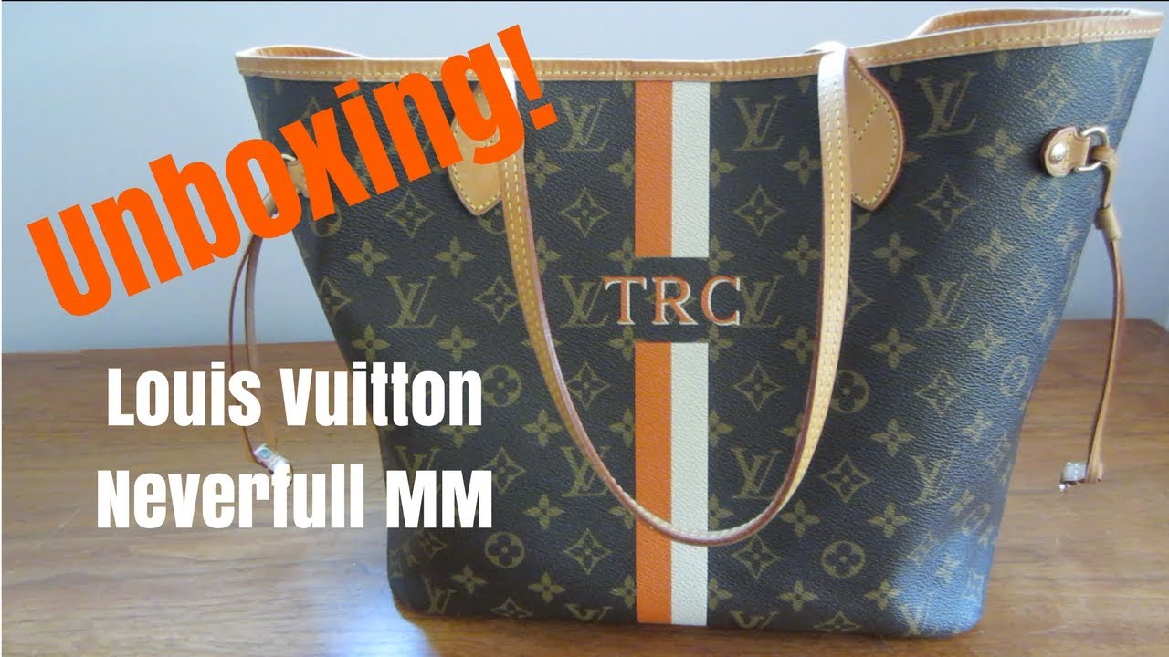 886bc50307 UNBOXING & REVEAL | Louis Vuitton Neverfull MM Monogram Mon Mono