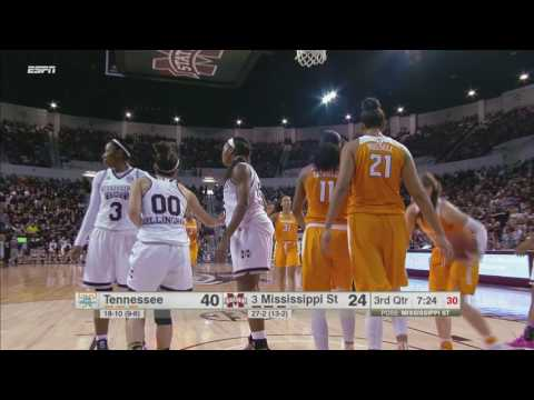 Highlights | Lady Vols 82, Mississippi State 64 (2.26.17)