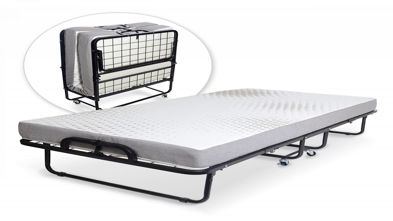 Milliard Diplomat Folding Bed - Twin Size - with Luxurious ...