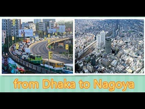 From Dhaka to Nagoya, Daniel World Travel