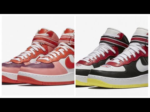 on sale b0281 e4eaa NIKE AIR FORCE 1 HIGH X RT VICTORIOUS MINOTAURS SUNBLUSH AND MORE !
