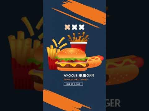 🔴-video-iklan-instagram-hamburger,-veggie-burger,-chicken-sandwich,-makanan-cepat-saji,-hamburger