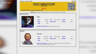 Texas DPS Mistakenly Sends Amber Alert For Chucky Doll