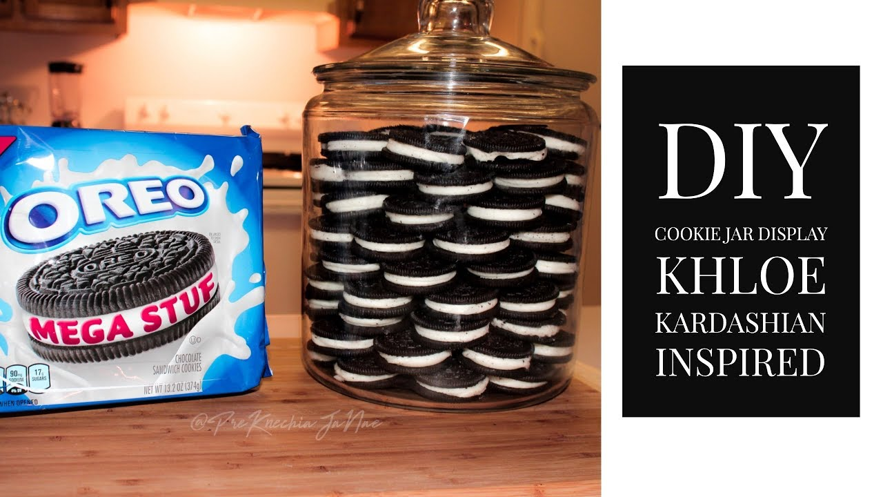 OCD Cookie Jar   Cookie Display (Khloe Kardashian Inspired)   Preu0027Knechia  Jau0027Nae