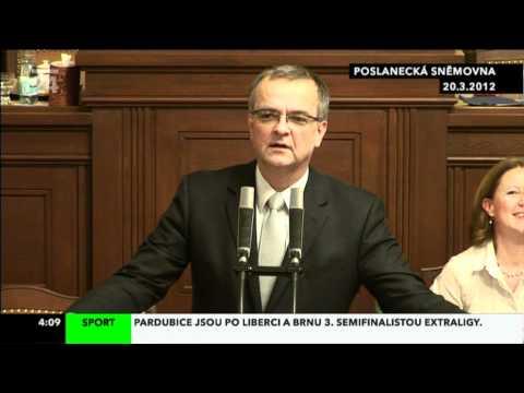 Paroubek versus Kalousek: Barvení vlasů feat. Vaječné čučche (20. 3. 2012)