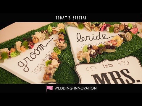 Today's Special by WEDDING INNOVATION