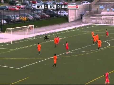 North York Astro's vs Toronto FC Academy, CSL July 15th 2011 Canadian Soccer League