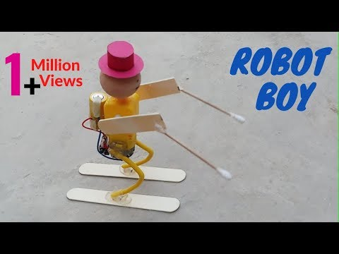 How To Make Robot At Home Easy – Mini Robot Making