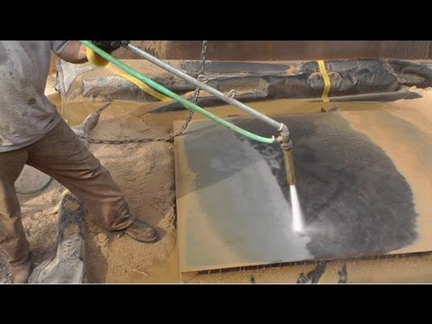 Big Diy Sandblaster Mods Hydro Sandblaster Amp Work Safety