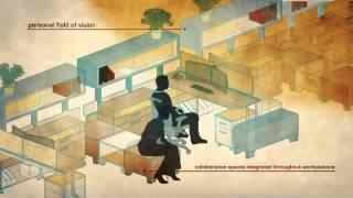 видео Офисные перегородки для современного пространства
