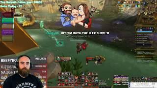 Atal Dazar +15: 473 Fury Warrior - WoW BFA 8.3 Mythic+ Dungeons