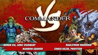Commander Versus Series: Momir v. Gwafa v. Marrow-Gnawer v. Maelstrom Wanderer [MTG Multiplayer]