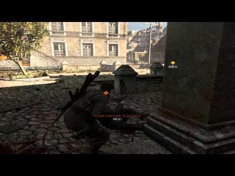Sniper Elite V2 Coop - [ Prva misija: Schoneberg Streets ]
