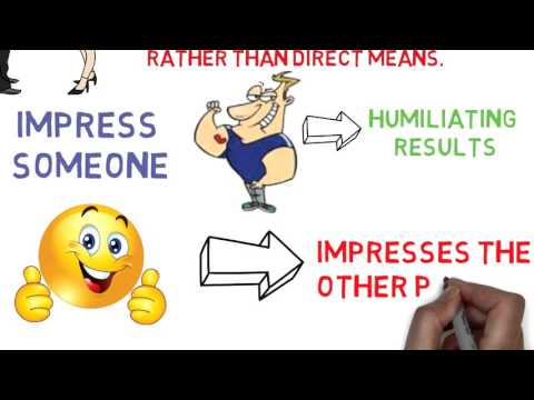 How To InfluencePeople - The Law Of Indirect Effort (Brian Tracy)