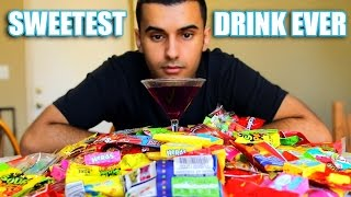 Zapętlaj DRINKING THE SWEETEST DRINK ON EARTH!!! (CANDY! + BAG OF SUGAR!) CHALLENGE!! | ADHD\'s World
