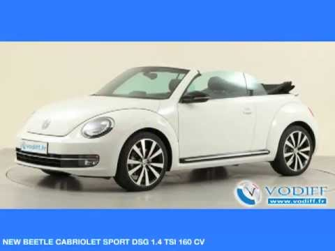 vodiff volkswagen occasion alsace new beetle cabriolet. Black Bedroom Furniture Sets. Home Design Ideas