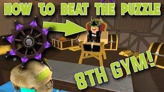 HOW TO DO THE 8TH GYM PUZZLE IN POKEMON BRICK BRONZE