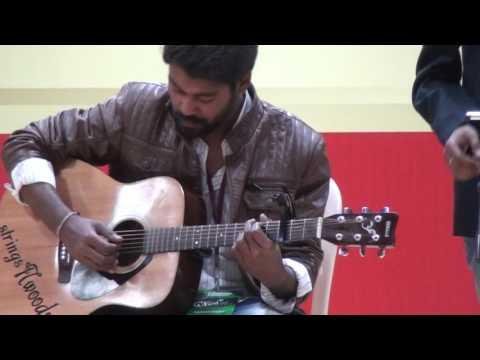 Laiyan Laiyan Acoustic Cover At Chandigarh University   PrinceRaj Music 