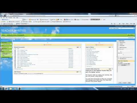 MySite-Adding a RSS viewer Webpart - YouTube