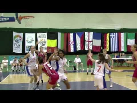 Video : Ντάνου και Φασούλα : Στις πέντε κορυφαίες στιγμές του 2ου γύρου U16 Women 2013