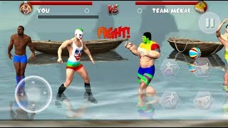 Beach Wrestling Revolution 2018: World Champions (Final Simulations) Android GamePlay Video