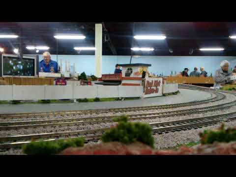 Freight running at OMRA in OKC 4.8.2018