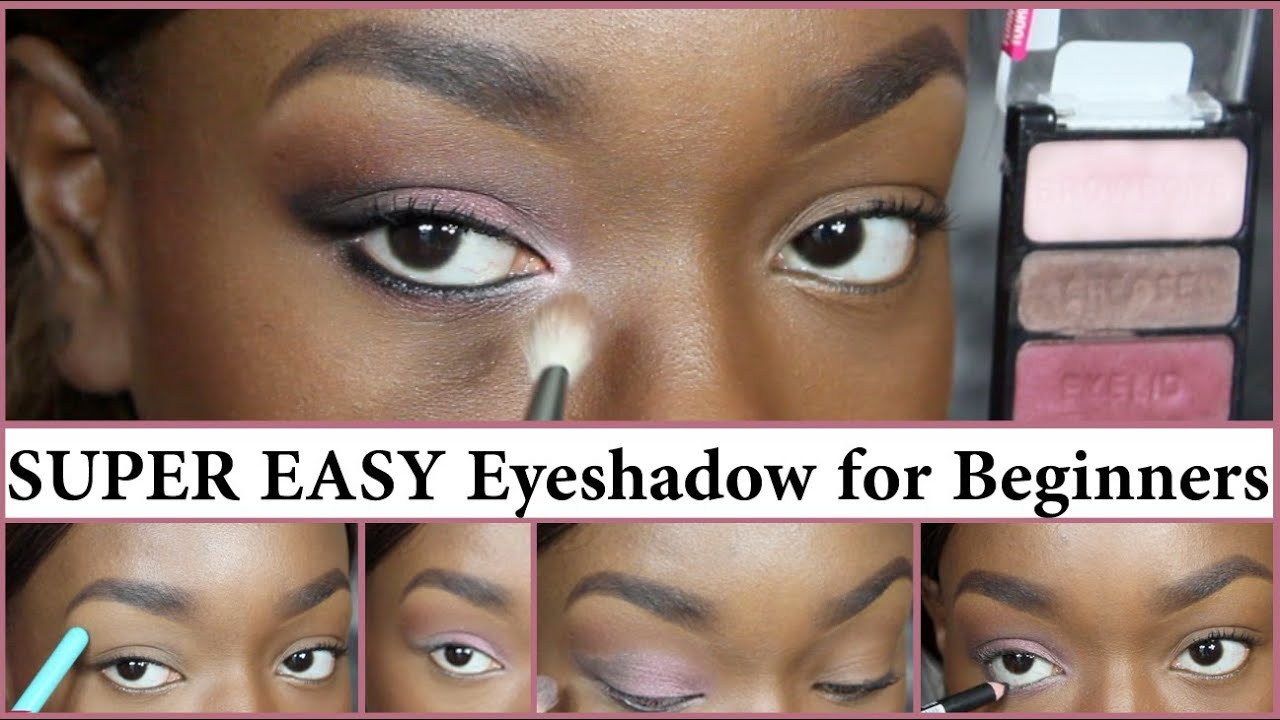 Super easy beginners eyeshadow youtube ccuart Images