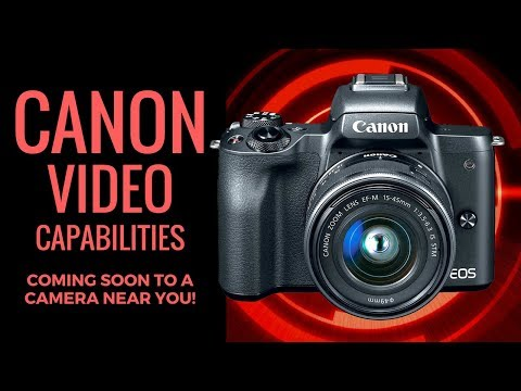 Canon to Concentrate on VIDEO CAPABILITIES