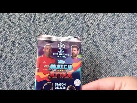 Karty  Champions League 2017/ 2018  Match  Attax