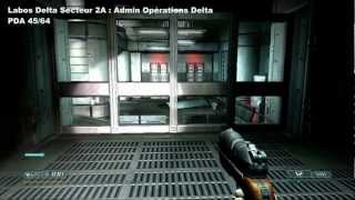 Doom 3 BFG Edition - Guide complet Doom 3 succès PDA, Casiers et VidéoDisques