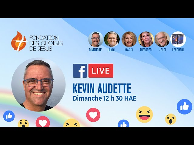 Facebook Live quotidien 27/06/2021 - Ensemble pour répandre l'Amour