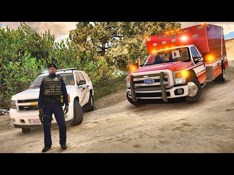GTA 5 MODS LSPDFR 966  - TAHOE PATROL!!! (GTA 5 REAL LIFE PC MOD)