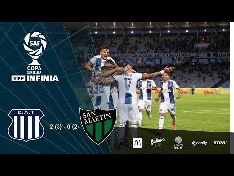 #CopaSuperliga: resumen de Talleres - San Martín (SJ)