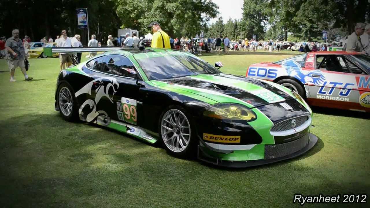 Jaguar Xkr S Gt Race Car Youtube