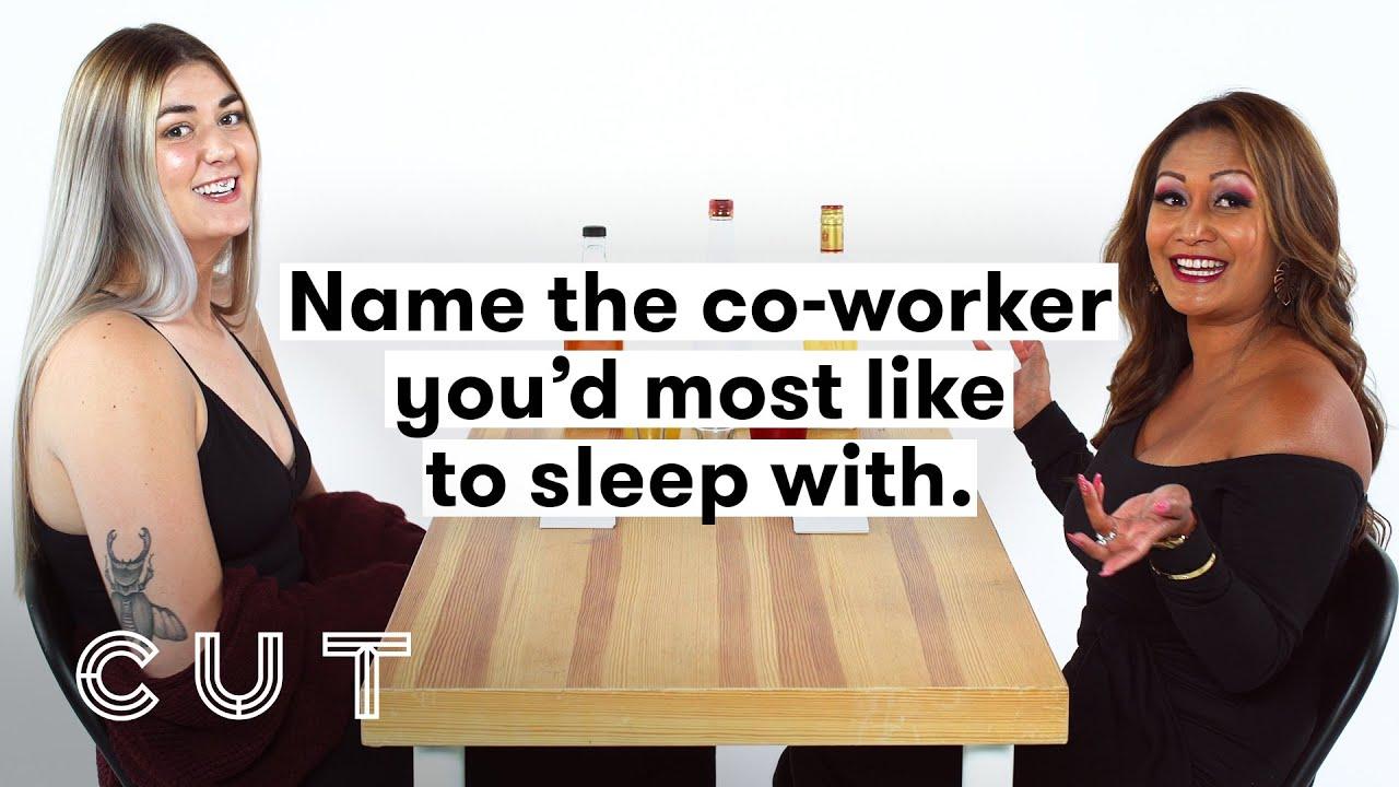 My Boss & I Play Truth or Drink (Jessica & Weylene) | Truth or Drink | Cut